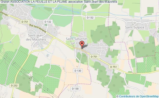 plan association Association La Feuille Et La Plume