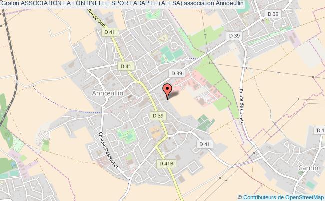 plan association Association La Fontinelle Sport Adapte (alfsa)