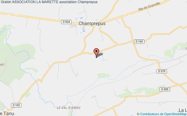 plan association Association La Marette Villedieu-les-Poêles-Rouffigny