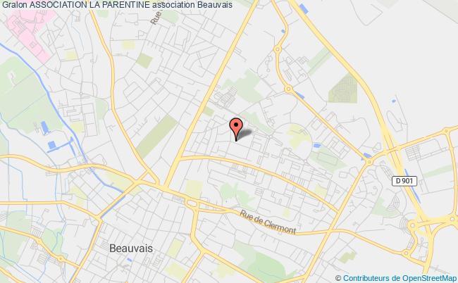 plan association Association La Parentine Beauvais