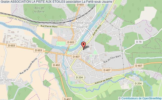 plan association Association La Piste Aux Étoiles