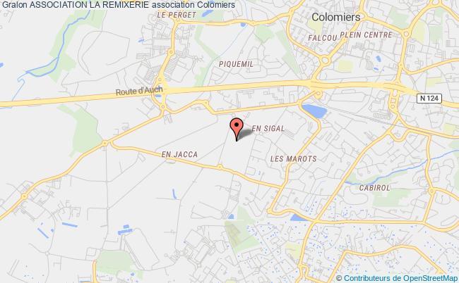 plan association Association La Remixerie