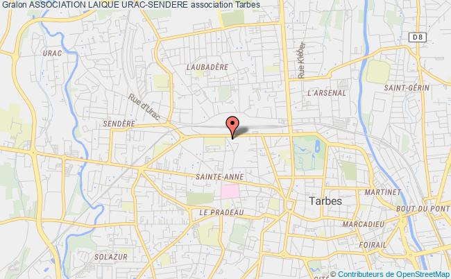 plan association Association Laique Urac-sendere Tarbes