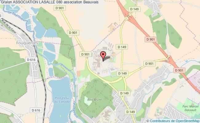 plan association Association Lasalle 080 Beauvais