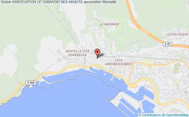 plan association Association Le Cabanon Des Minots