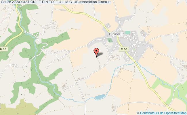 plan association Association Le Din'eole U.l.m Club