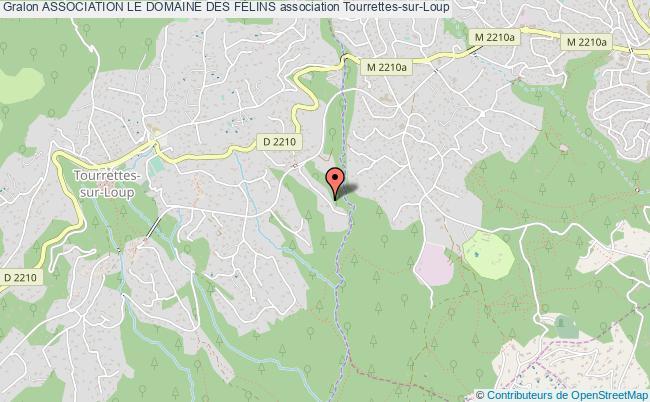 plan association Association Le Domaine Des FÉlins Tourrettes-sur-Loup