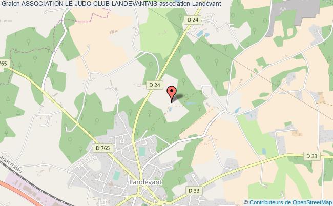 plan association Association Le Judo Club Landevantais Landévant
