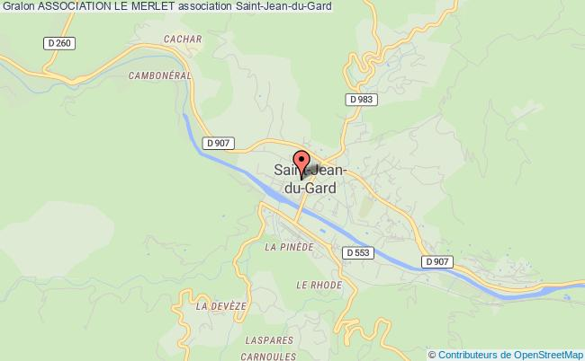 plan association Association Le Merlet