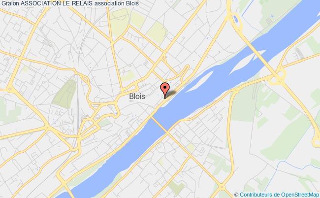 plan association Association Le Relais Blois