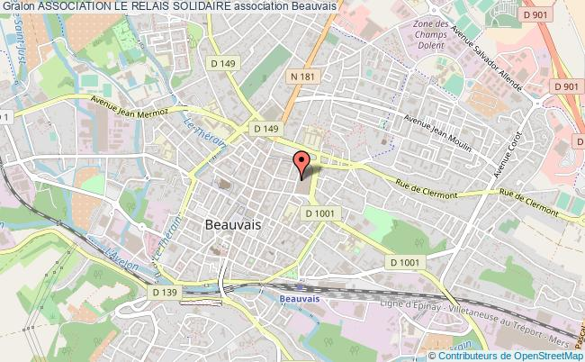 plan association Association Le Relais Solidaire Beauvais