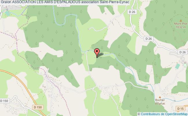 plan association Association Les Amis D'espaladous Saint-Pierre-Eynac