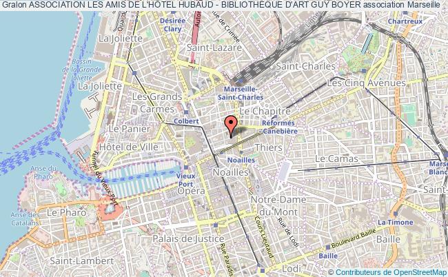 plan association Association Les Amis De L'hÔtel Hubaud - BibliothÈque D'art Guy Boyer