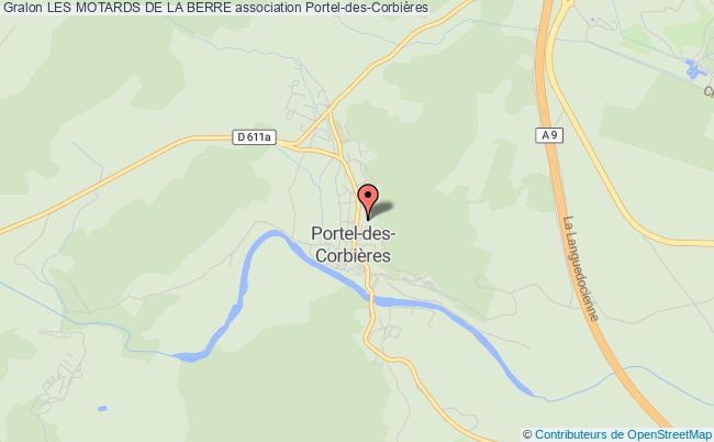 plan association Association Les Amis De Portel Portel-des-Corbières
