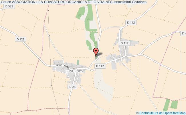 plan association Association Les Chasseurs Organises De Givraines