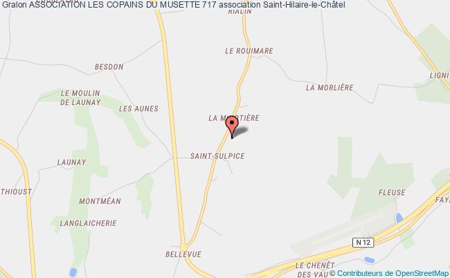 plan association Association Les Copains Du Musette 717