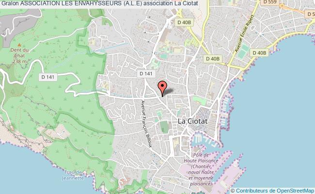 plan association Association Les Envahysseurs (a.l.e)