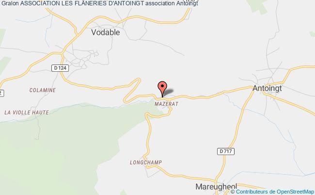 plan association Association Les FlÂneries D'autrac Lempdes-sur-Allagnon