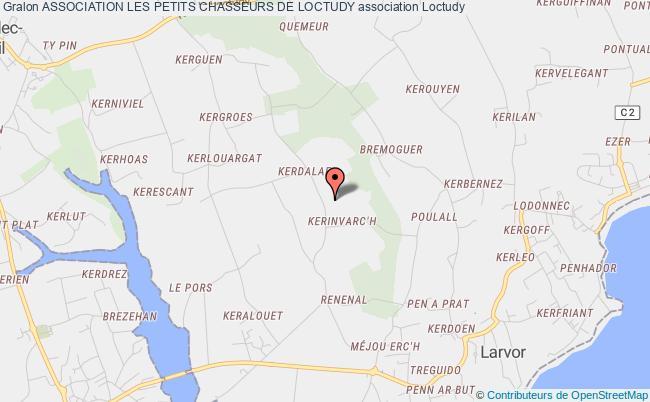 plan association Association Les Petits Chasseurs De Loctudy
