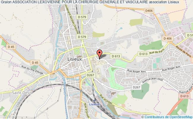 plan association Association Lexovienne Pour La Chirurgie Generale Et Vasculaire