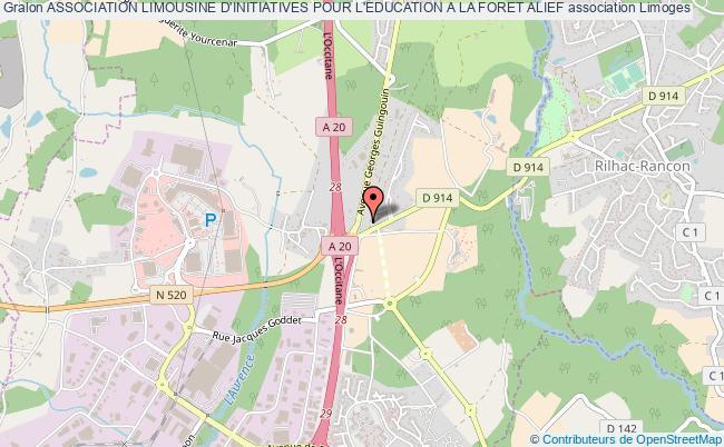 plan association Association Limousine D'initiatives Pour L'education A La Foret Alief