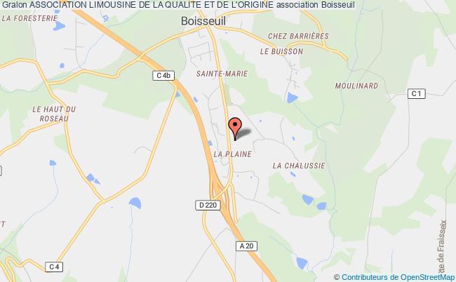 plan association Association Limousine De La Qualite Et De L'origine