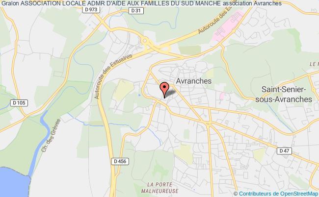 plan association Association Locale Admr D'aide Aux Familles Du Sud Manche