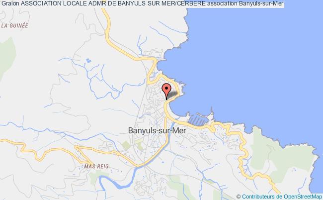plan association Association Locale Admr De Banyuls Sur Mer/cerbere