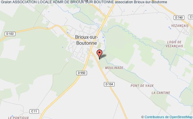plan association Association Locale Admr De Brioux Sur Boutonne