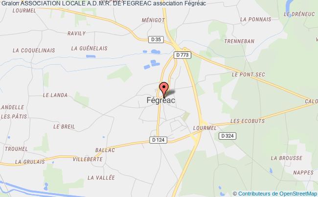 plan association Association Locale A.d.m.r. De Fegreac