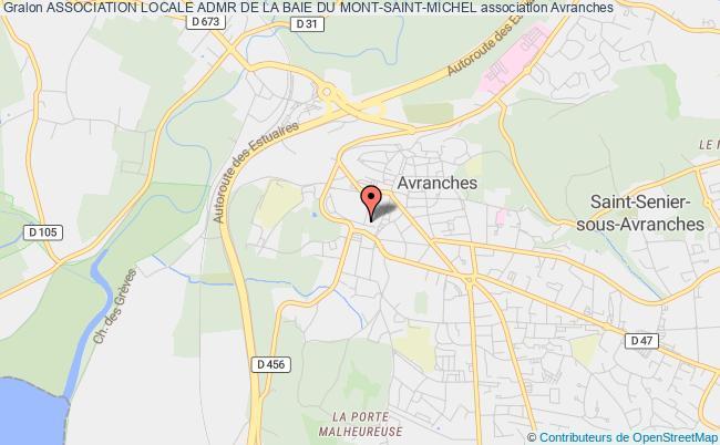 plan association Association Locale Admr De La Baie Du Mont-saint-michel