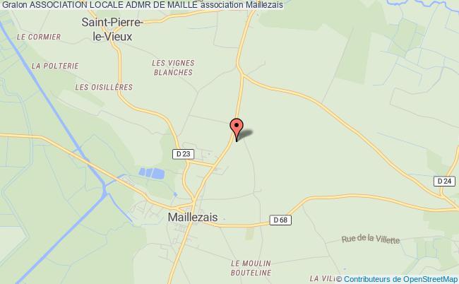 plan association Association Locale Admr De Maille