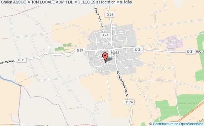 ASSOCIATION LOCALE ADMR DE MOLLEGES