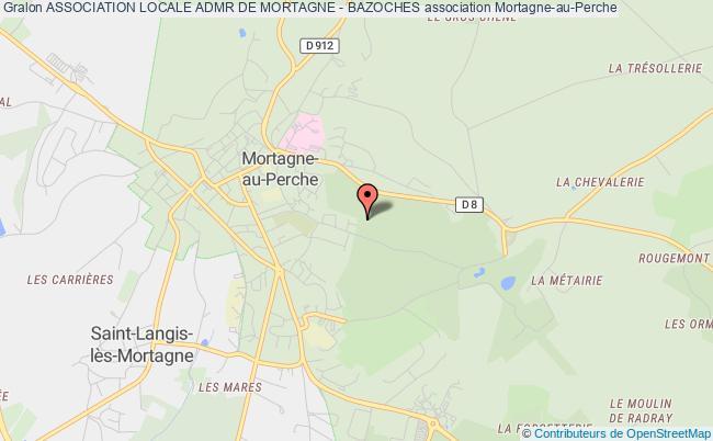 plan association Association Locale Admr De Mortagne - Bazoches