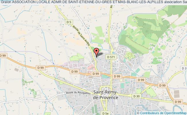 plan association Association Locale Admr De Saint-etienne-du-gres Et Mas-blanc-les-alpilles