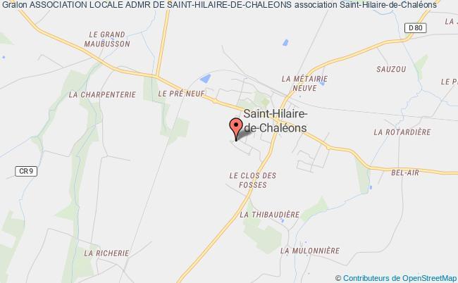 plan association Association Locale Admr De Saint-hilaire-de-chaleons