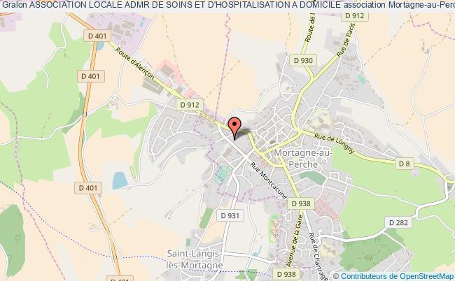 plan association Association Locale Admr De Soins Et D'hospitalisation A Domicile