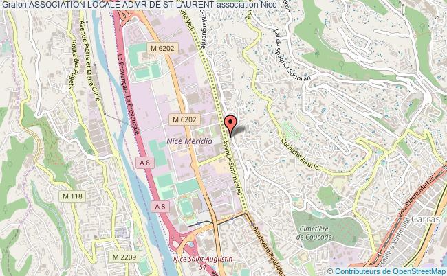 plan association Association Locale Admr De St Laurent Nice