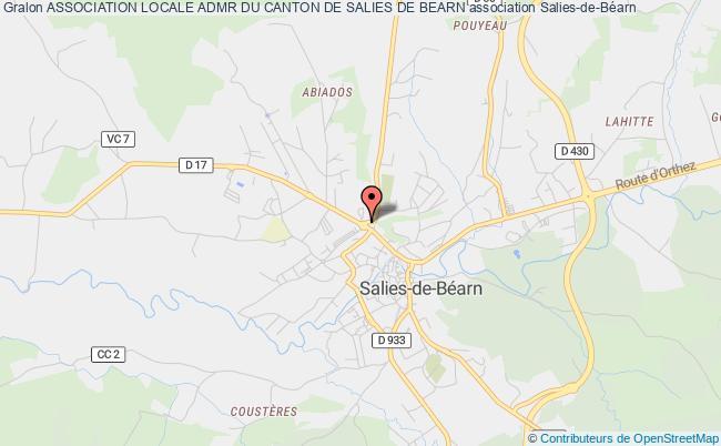 plan association Association Locale Admr Du Canton De Salies De Bearn