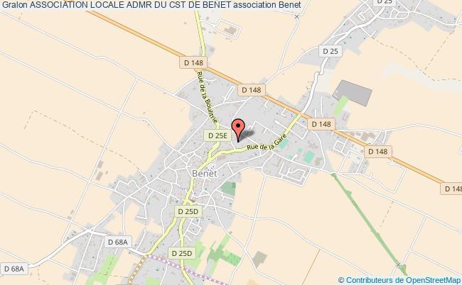 plan association Association Locale Admr Du Cst De Benet