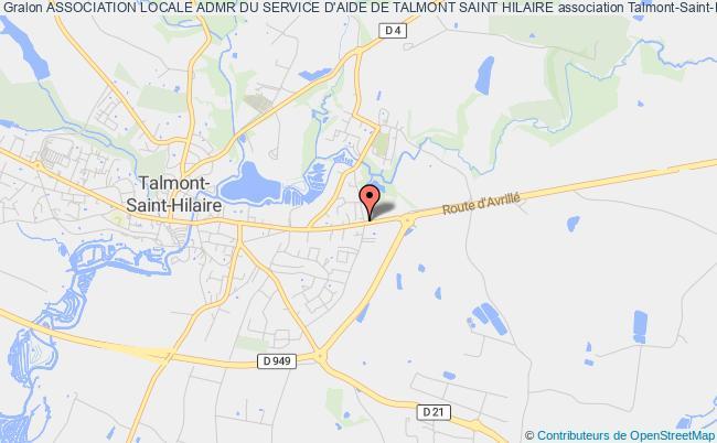 plan association Association Locale Admr Du Service D'aide De Talmont Saint Hilaire