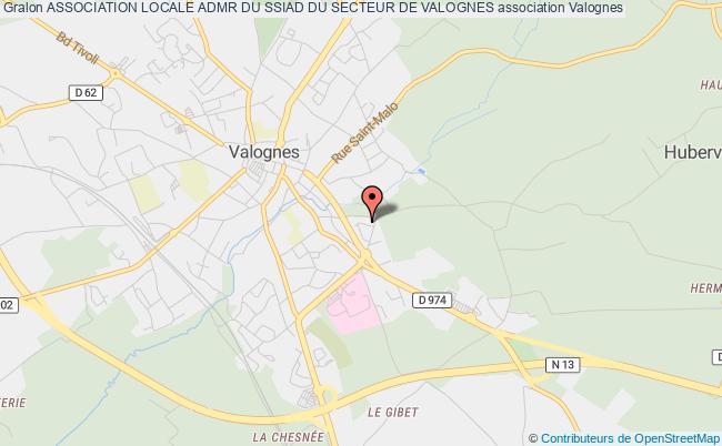 plan association Association Locale Admr Du Ssiad Du Secteur De Valognes Valognes