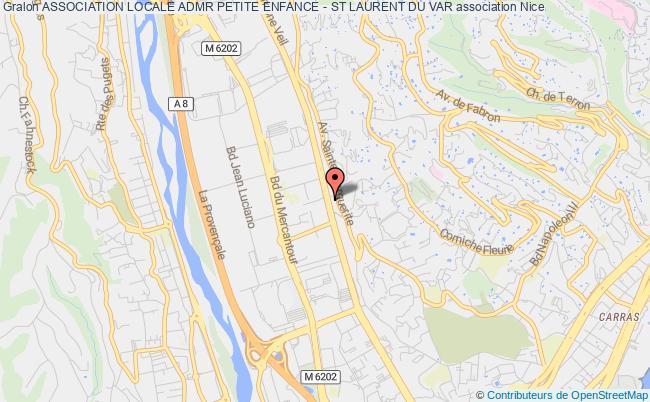 plan association Association Locale Admr Petite Enfance - St Laurent Du Var