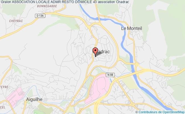 plan association Association Locale Admr Rest'o Domicile 43 Chadrac