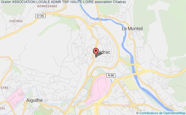 plan association Association Locale Admr Tisf Haute-loire Chadrac
