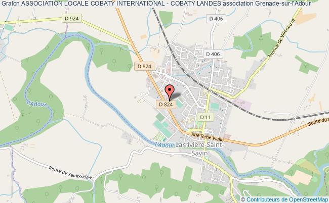 plan association Association Locale Cobaty International - Cobaty Landes