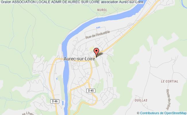 plan association Association Locale D' Aide A Domicile En Milieu Rural D' Aurec Sur Loire