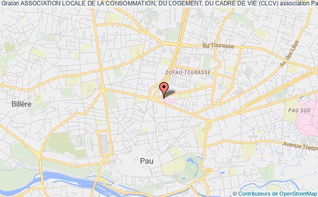 plan association Association Locale De La Consommation, Du Logement, Du Cadre De Vie (clcv)