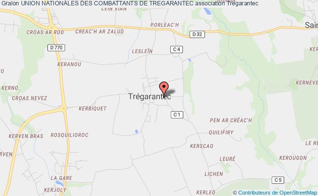 plan association Association Locale De Tregarantec De L'union Nationale Des Combattants Du Departement Du Finistere