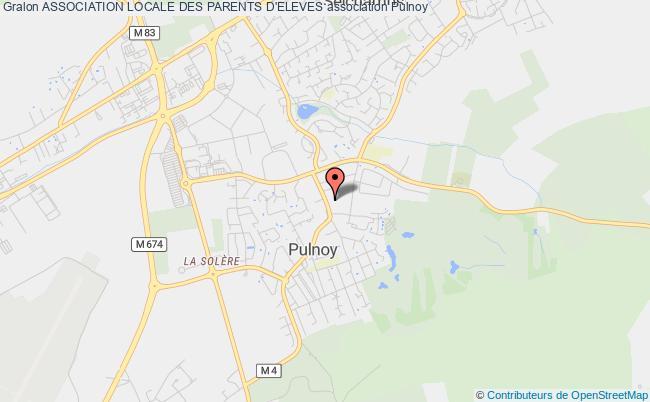 plan association Association Locale Des Parents D'eleves Pulnoy